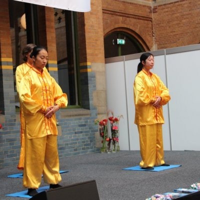 Falun Dafa, exercise to a state of wisdom - Falun Gong Stichting Nederland